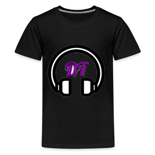 Deadtop1369 Channel Logo - Kids' Premium T-Shirt