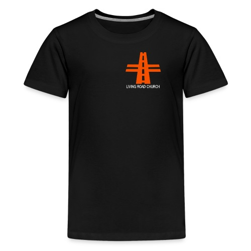 LIVING ROAD CHURCH logo small - Kids' Premium T-Shirt