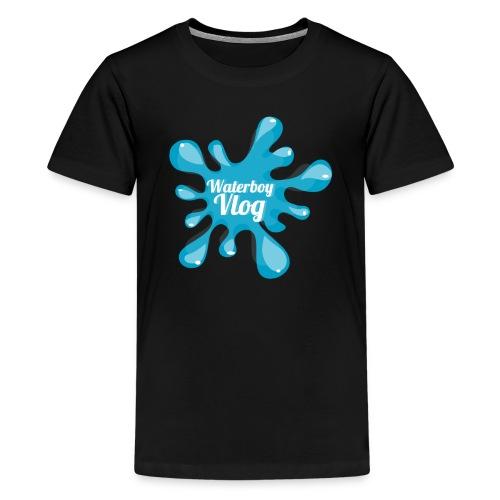 Waterboy Vlog Logo - Kids' Premium T-Shirt