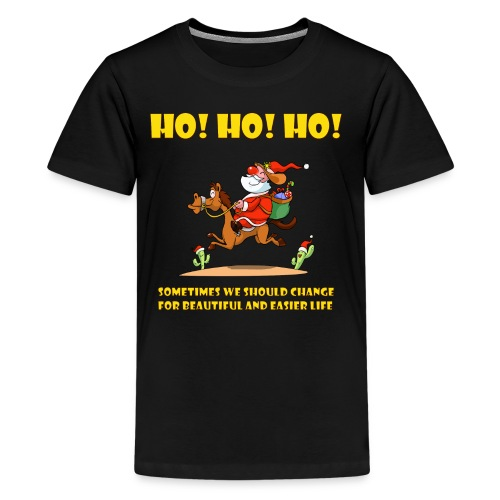 xmas funny tee shirs - Kids' Premium T-Shirt