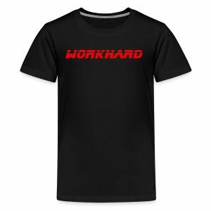 Workhard Mindset - Kids' Premium T-Shirt