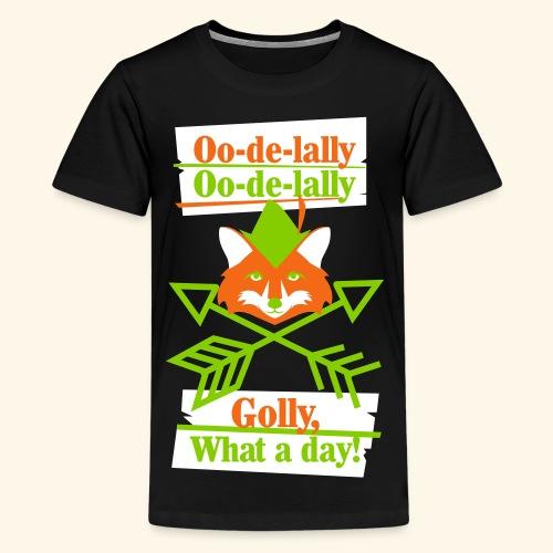 Ooodelally2 - Kids' Premium T-Shirt