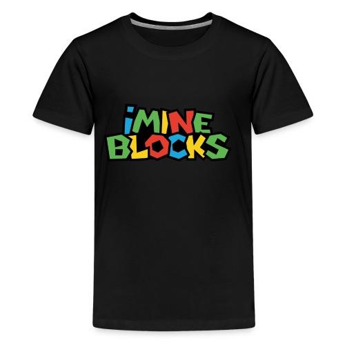 iMine Blocks - Kids' Premium T-Shirt