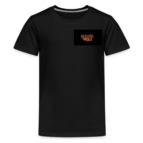 NgamingRocks LoGo - Kids' Premium T-Shirt