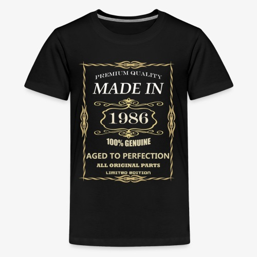 32 years old, made in 1986 - Kids' Premium T-Shirt