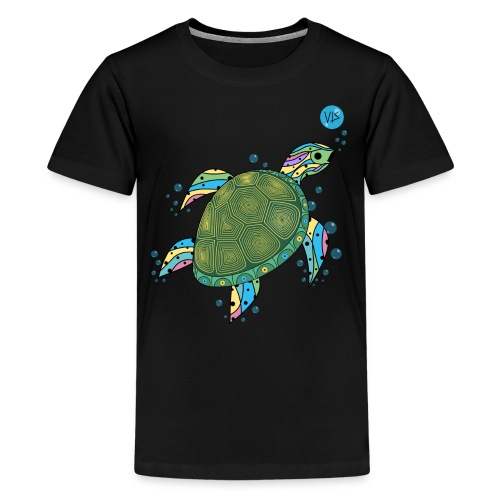 Vis - Turtle - Kids' Premium T-Shirt