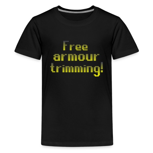 on top free armour - Kids' Premium T-Shirt
