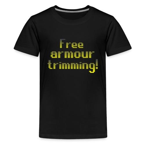 on top free armour - Kids' Premium T-Shirt