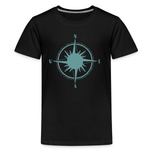 Nautical Sailing Compass - Kids' Premium T-Shirt