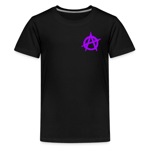 ANVRCHY purple - Kids' Premium T-Shirt