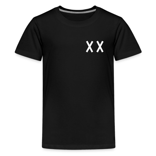 MKI White Logo Black - Kids' Premium T-Shirt