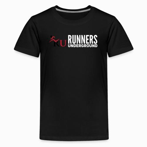 Runners Underground Logo W - Kids' Premium T-Shirt