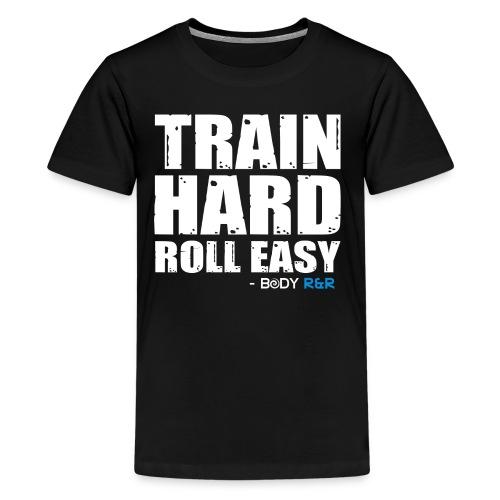 Train Hard. Roll Easy. Tshirt - Kids' Premium T-Shirt