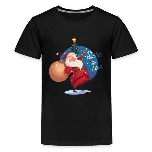 Winter is here - Kids' Premium T-Shirt