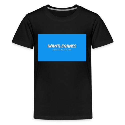 IWantLeGames - Kids' Premium T-Shirt