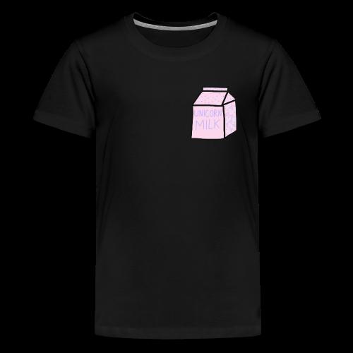 Unicorn Milk Carton - Kids' Premium T-Shirt
