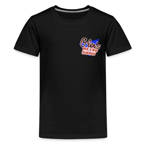 Glen s Retro Show Logo - Kids' Premium T-Shirt