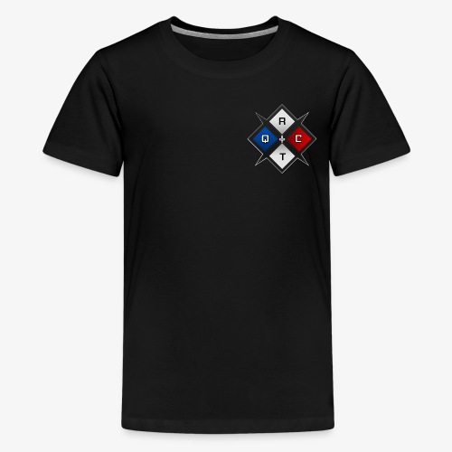 RTQC Logo - T-shirt premium pour ados