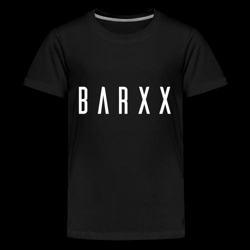 BARXX Logo White - Kids' Premium T-Shirt