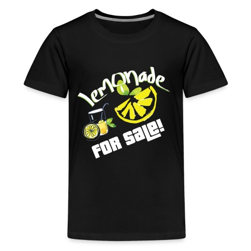 Lemonade For Sale Stand Funny Summer Beverage Gift - Kids' Premium T-Shirt