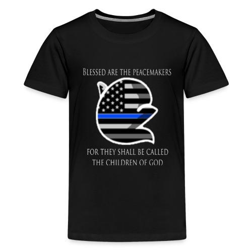 Thin Blue Line - Kids' Premium T-Shirt