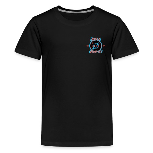 zero gravity 3D logo - Kids' Premium T-Shirt