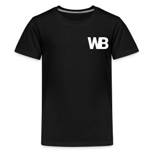 Winged Bandit WHITE profile picture - Kids' Premium T-Shirt