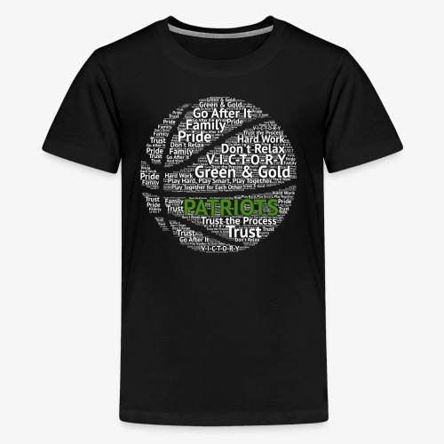 Pats Basketball White - Kids' Premium T-Shirt