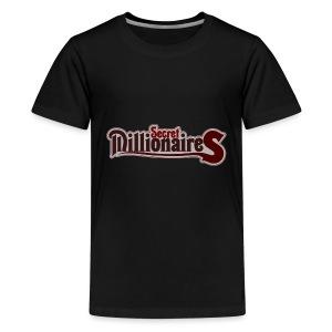 millionaire logo PRINT 1 - Kids' Premium T-Shirt