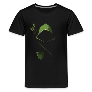 Arrow Hood - Kids' Premium T-Shirt