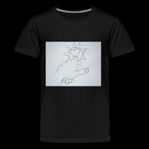 Heart of the Sun - Kids' Premium T-Shirt