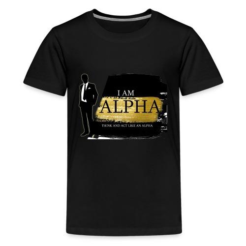 Alpha shirt - Kids' Premium T-Shirt