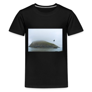 bird and rock - Kids' Premium T-Shirt