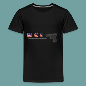 The thing goes skraaa - mans not hot meme tide pod - Kids' Premium T-Shirt