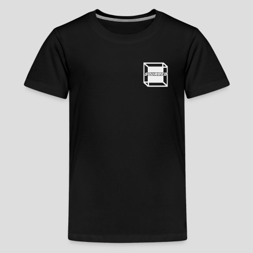 Squared Apparel White Logo - Kids' Premium T-Shirt