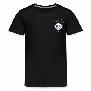 Official KAM Logo (Outlined) - Kids' Premium T-Shirt