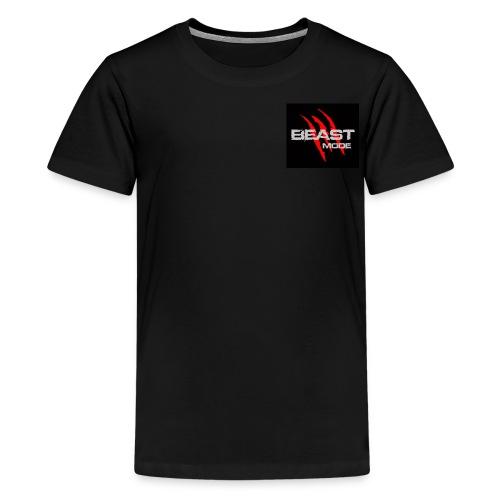 BeastModeLogo 9076 - Kids' Premium T-Shirt