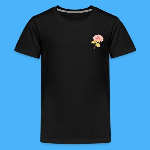 Pink Floral - Kids' Premium T-Shirt