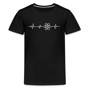 Heart beat - javascript - Kids' Premium T-Shirt