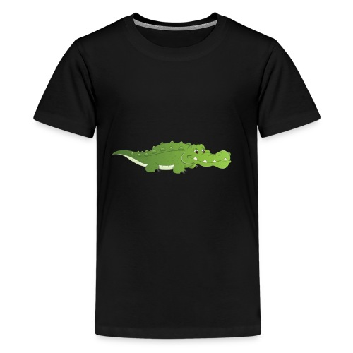 cute baby crocodile - Kids' Premium T-Shirt
