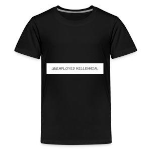 Unemployed Millennial - Kids' Premium T-Shirt