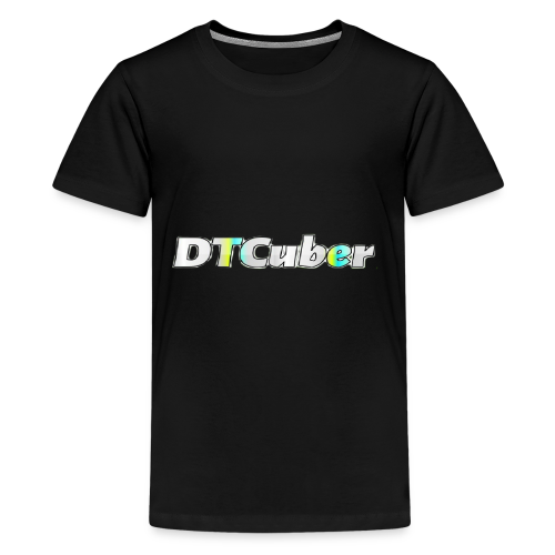 DTCuber Logo - Kids' Premium T-Shirt