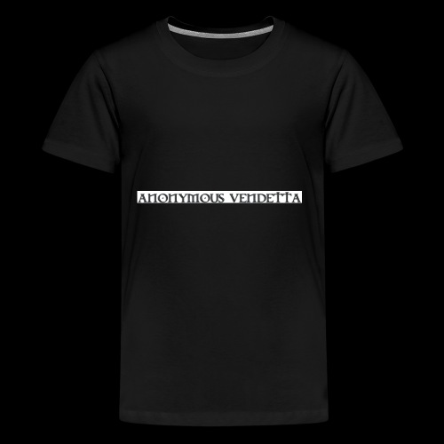 Anonymous Vendetta - Kids' Premium T-Shirt