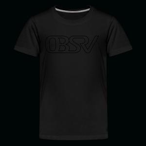 OBSRV Void - Kids' Premium T-Shirt