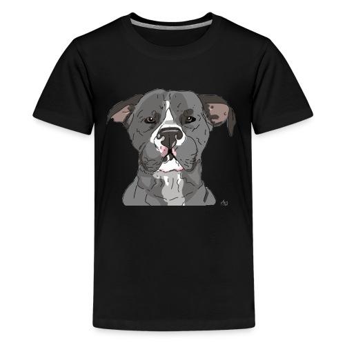 AmericanWoof - art by lloganbear - Kids' Premium T-Shirt