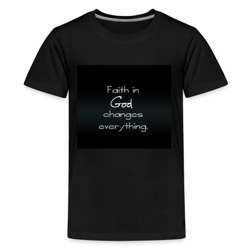 faith in god wallpaper 11104412 - Kids' Premium T-Shirt