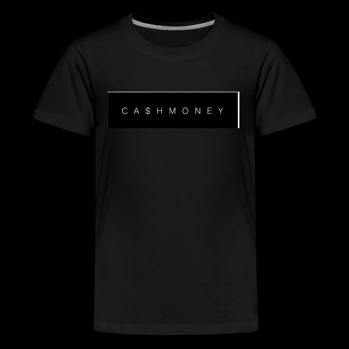 Ca$hMoney box logo v2 - Kids' Premium T-Shirt