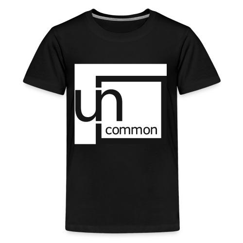 Uncommon logo BW - Kids' Premium T-Shirt