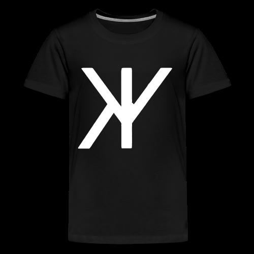 Classic Logo [White Variant] - Kids' Premium T-Shirt