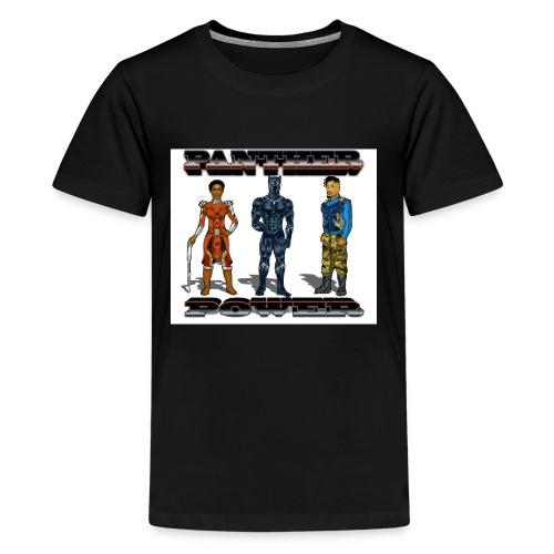 Panther Power - Kids' Premium T-Shirt